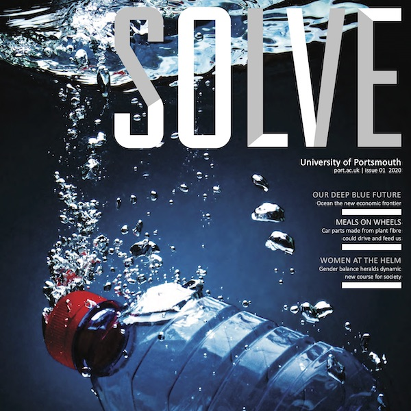 UoP Solve magazine front cover square