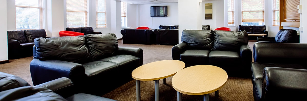 Social space in Rees hall, Portsmouth