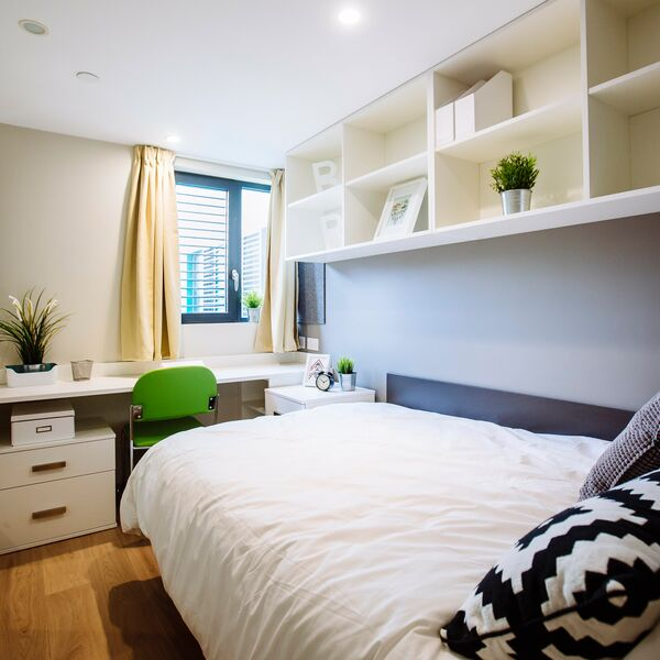 Student bedroom in Halls of Residence