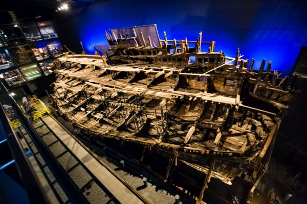 The wreck of the Mary Rose